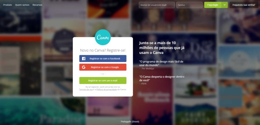 Canva - Softwares de Design Gráfico para Criar Identidade Visual