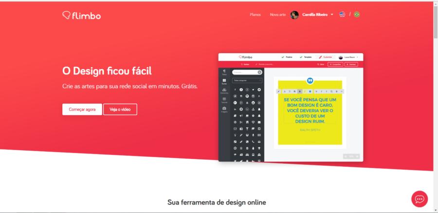 Flimbo - Softwares de Design Gráfico para Criar Identidade Visual