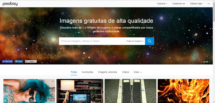 Banco de Vídeos Gratuitos Pixabay