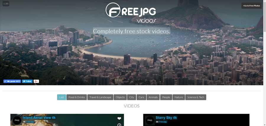 Free JPG Vídeos