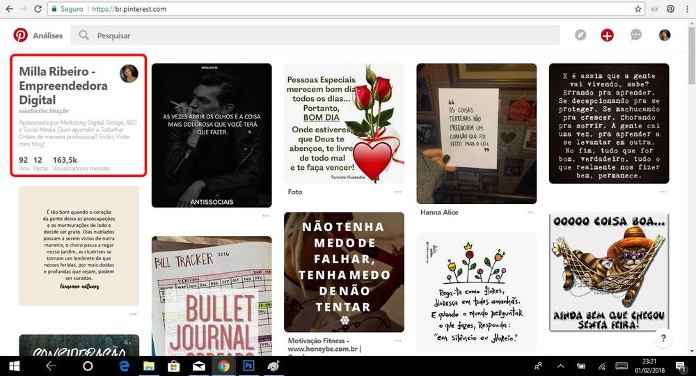 Como Ganhar Seguidores no Pinterest